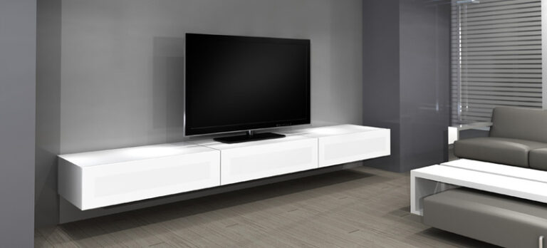 Zwevend TV meubel NorStone Khalm 100cm