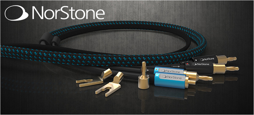Norstone Audio meubels, kabels en stands