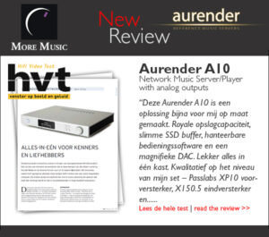 Review Aurender A10 HVT Aurender A10