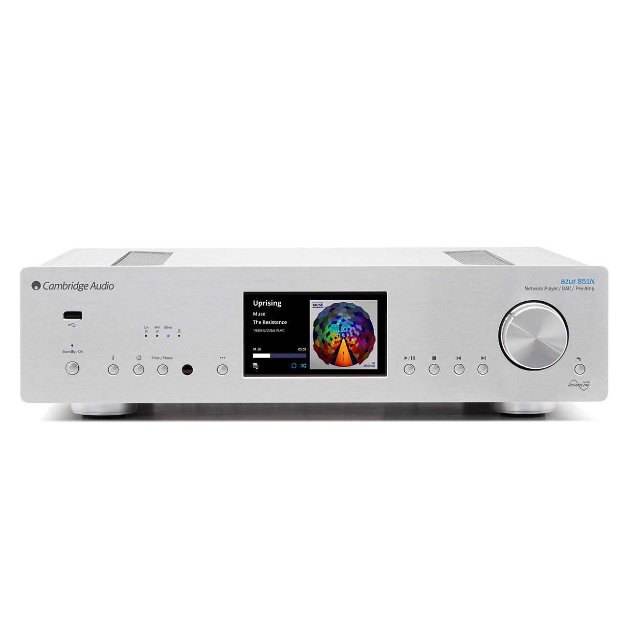De Cambridge Audio Azur 851N is de netwerkspeler uit de 851 serie van Cambridge
