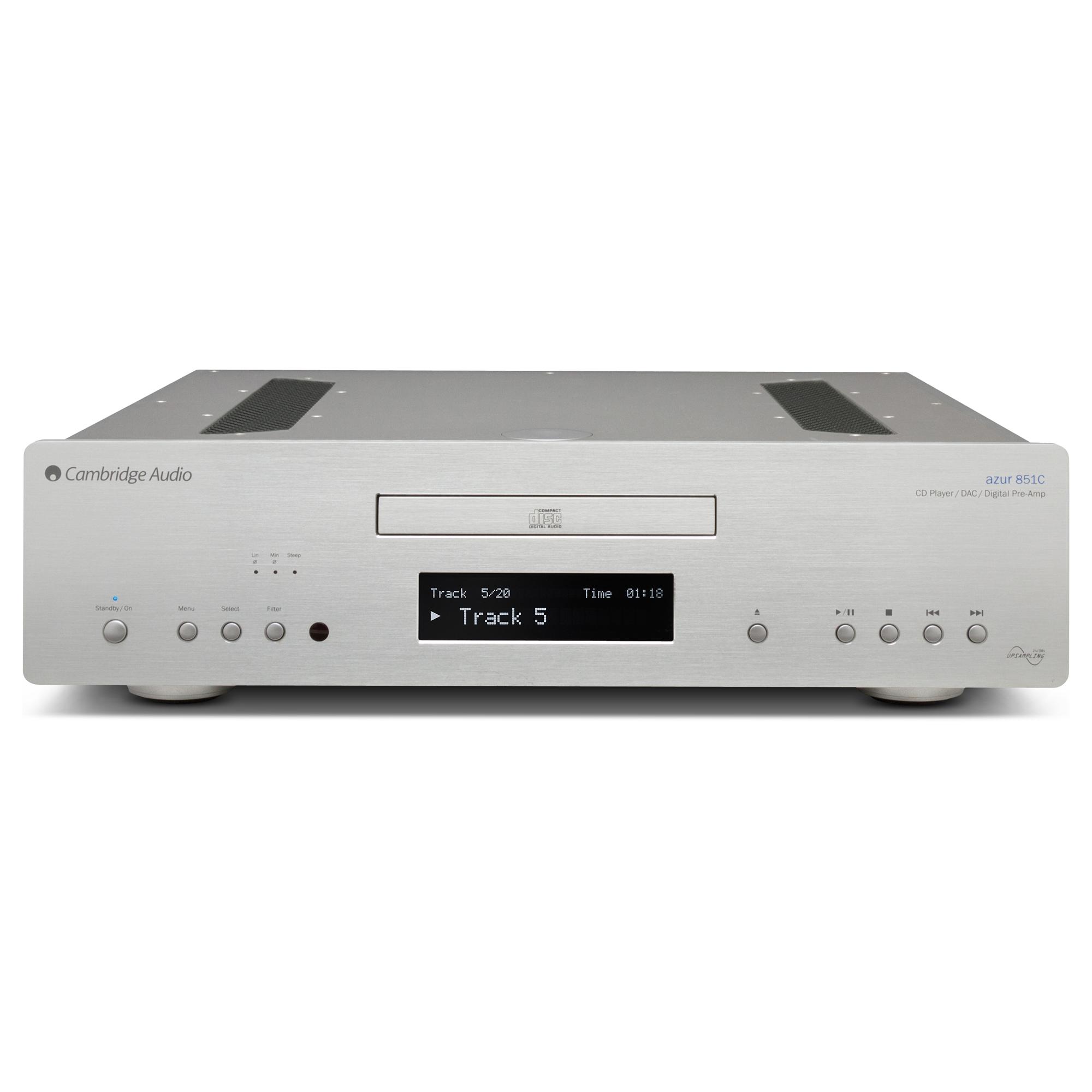 Cambridge Audio Azur 851C is zowel een cd-speler als voorversterker in één