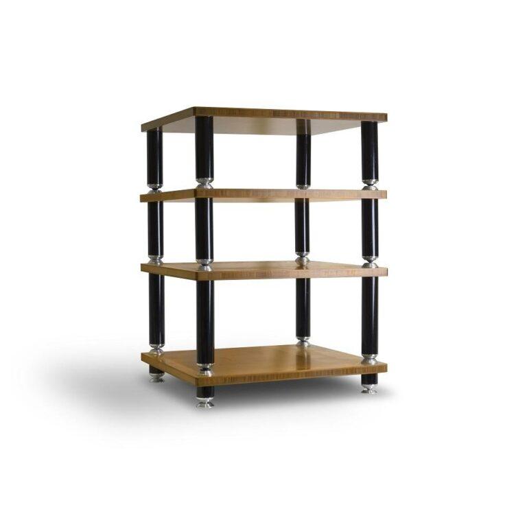 Norstone Hifi meubel afgewerkt in Bamboo