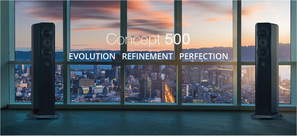 Q Acoustics Concept 500 Banner Primeur: Eerste dealer in Nederland met de Q Acoustics Concept 500