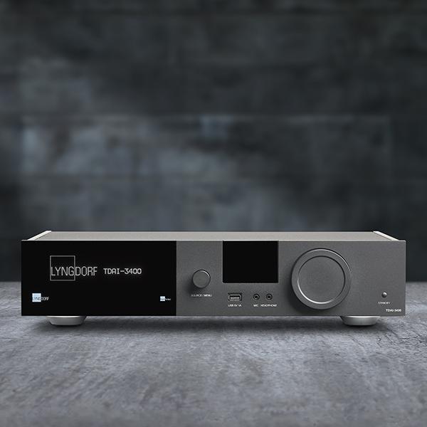 De Lyngdorf TDAI 3400 is de perfecte oplossing met RoomPerfect en streaming mogelijkheden