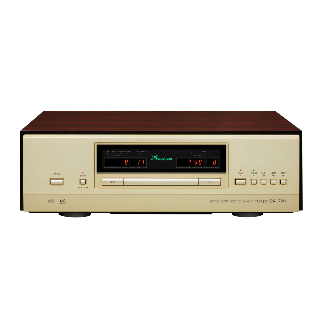Accuphase DP-750 cd-speler