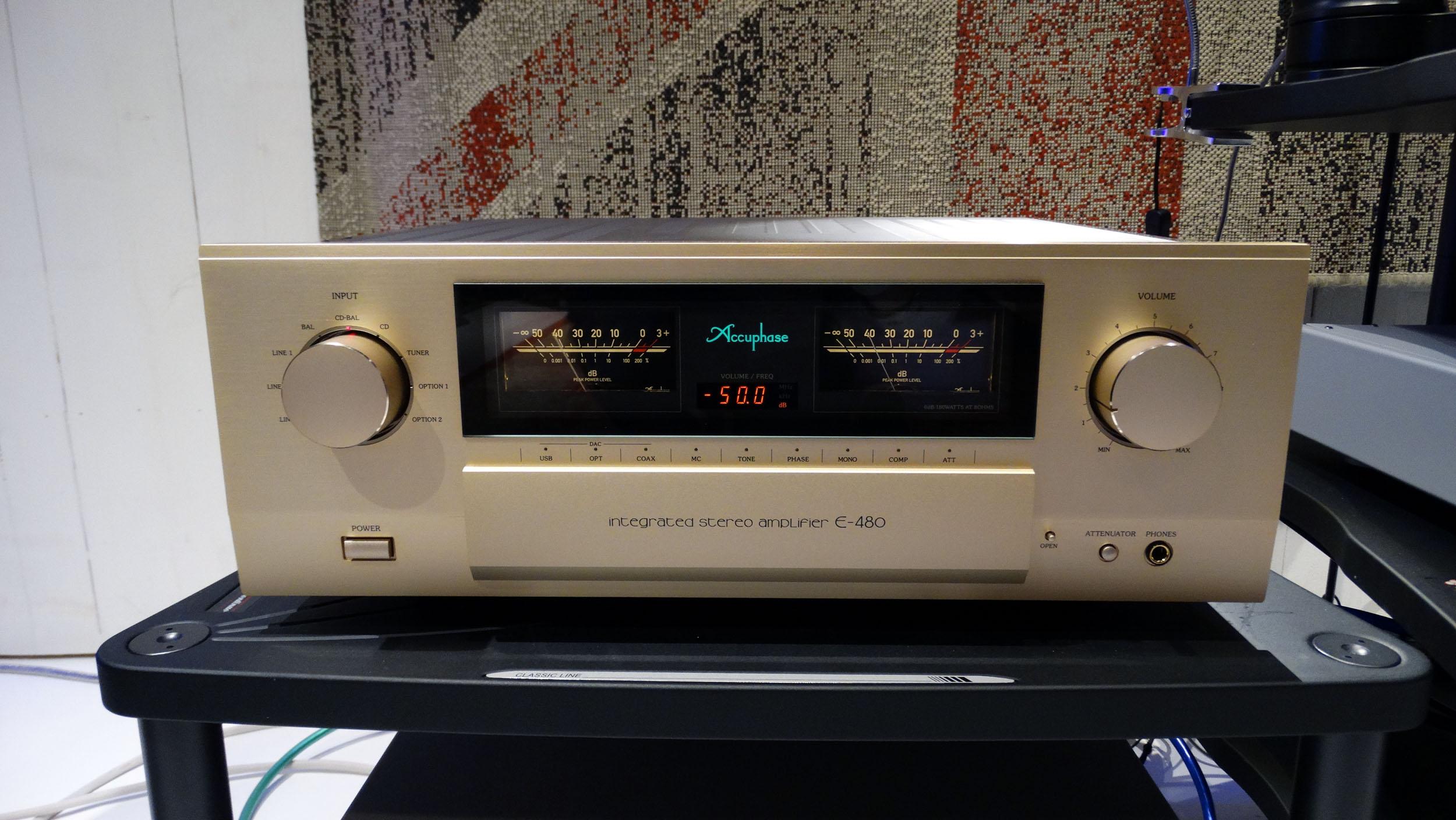 Accuphase E 480 Hans Audio 1 Nieuw binnen: Accuphase E-480