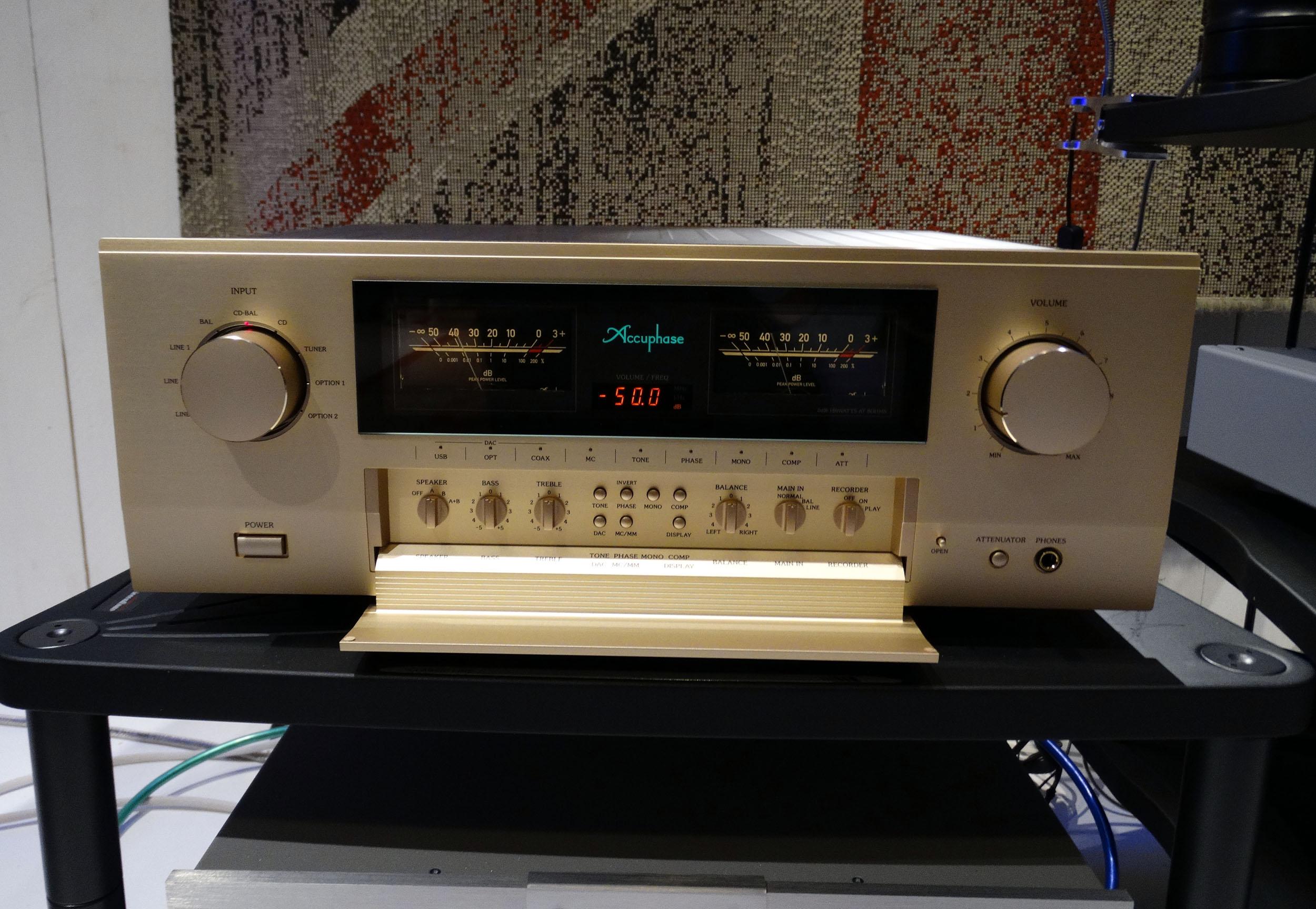 Accuphase E 480 Hans Audio 3 Nieuw binnen: Accuphase E-480