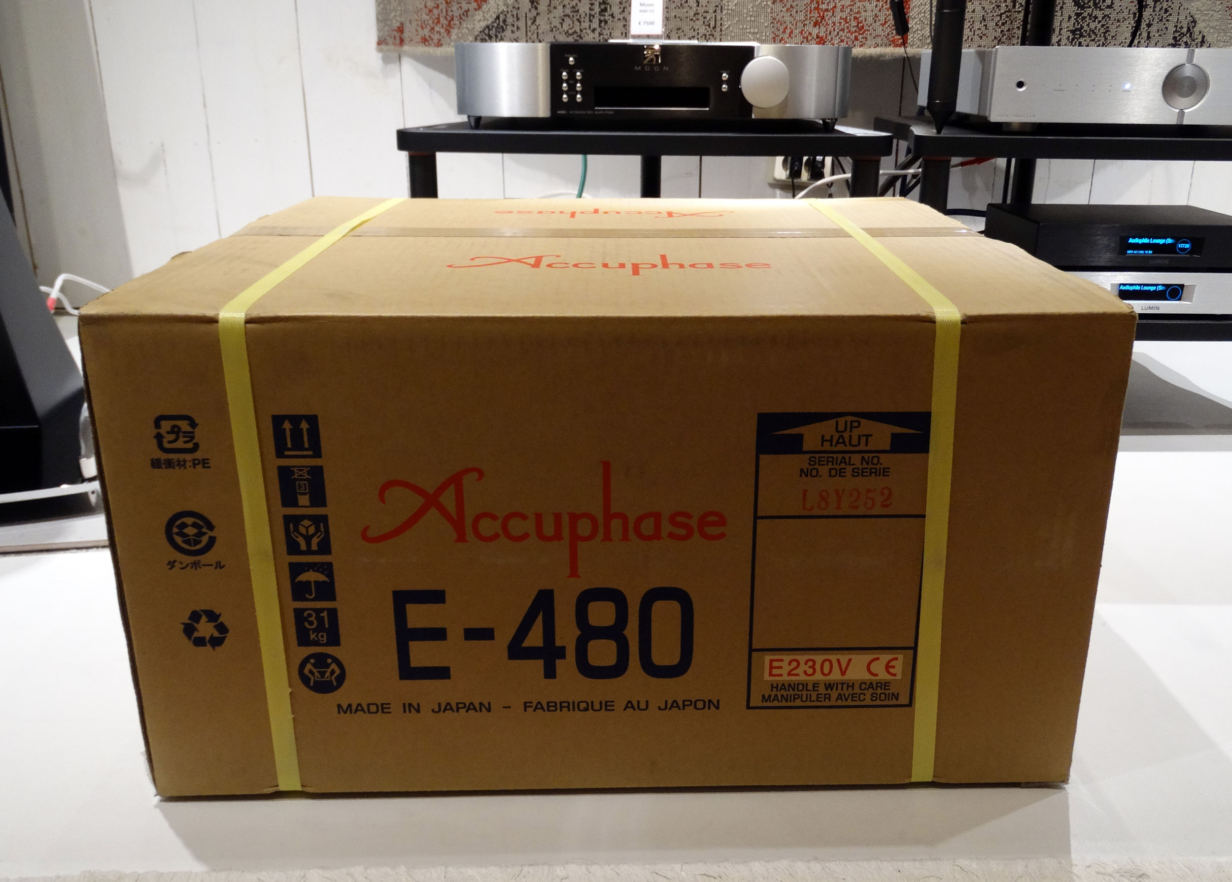 Accuphase E 480 Hans Audio 4 Nieuw binnen: Accuphase E-480