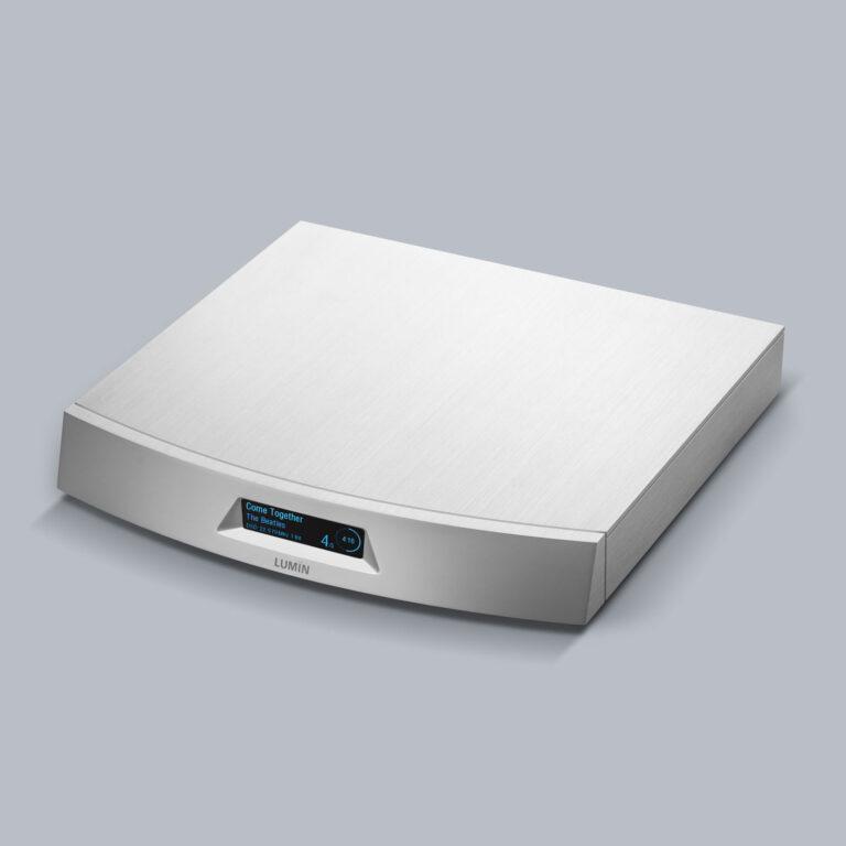 Lumin T2 Zilver Hans Audio 1 Nieuw binnen: Lumin T2