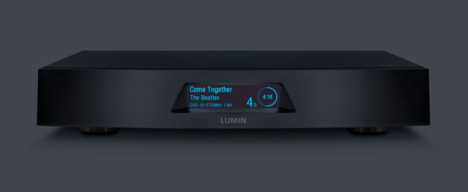 Lumin T2 Zwart Hans Audio Nieuw binnen: Lumin T2