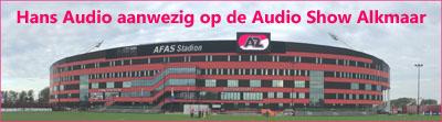 Hans Audio aanwezig op de Audio Show Alkmaar