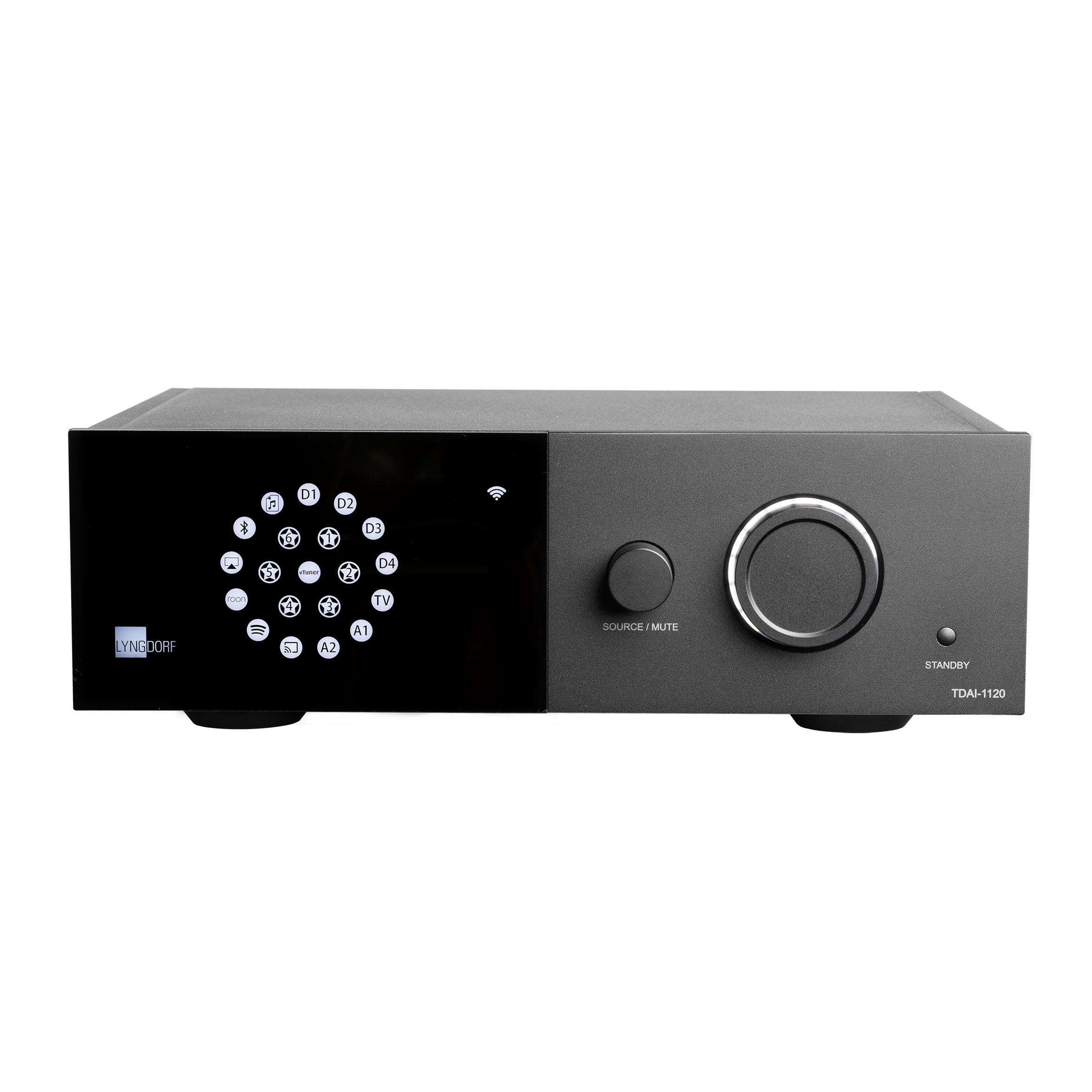 De Lyngdorf TDAI-1120 beschikt over een versterket met RoomPerfect en streaming
