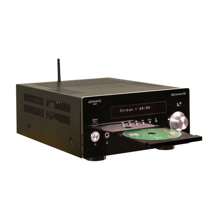 De Advance Paris MyConnect 60 is versterker, cd-speler, streamer met verschillende digitale ingangen