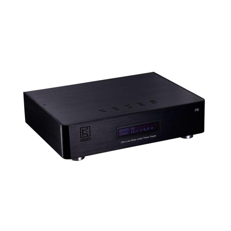 De Keces Audio P8 is de ideale voeding aanvulling voor uw netwerkspeler, dac, phono of ander apparaat met een geschakelde voeding