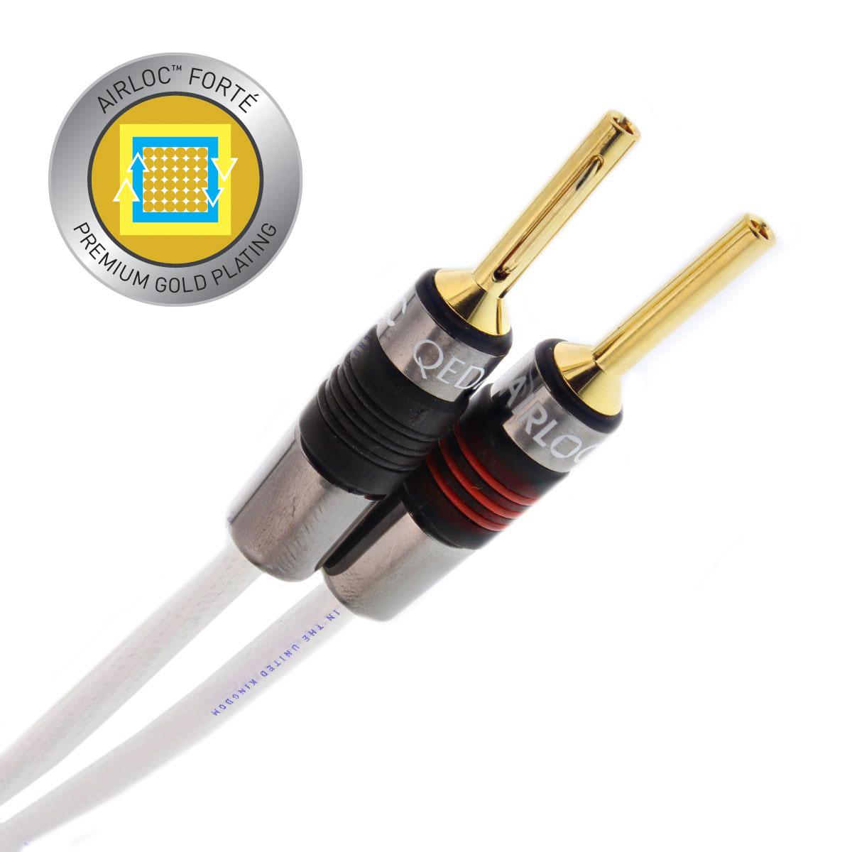 De QED XT25 Airloc Metal is de referentie kabel in deze prijsklasse. Gecombineerd met Airloc techniek onverslaanbaar