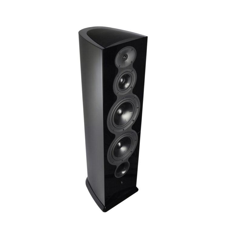 De Revel Performa3 F206 luidspreker is verkrijgbaar in hoogglans zwart, hoogglans wit en hoogglans walnoten
