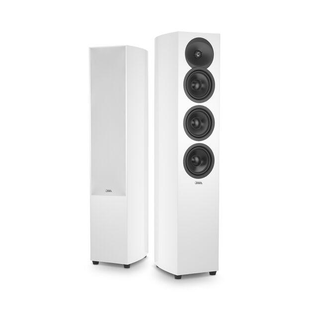 De Revel Concerta 2 F35 is verkrijgbaar in hoogglans wit en hoogglans zwart