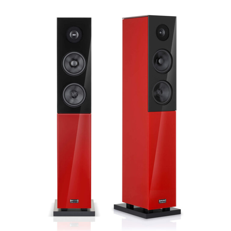 De Audio Physic Classic 15 in glas rood