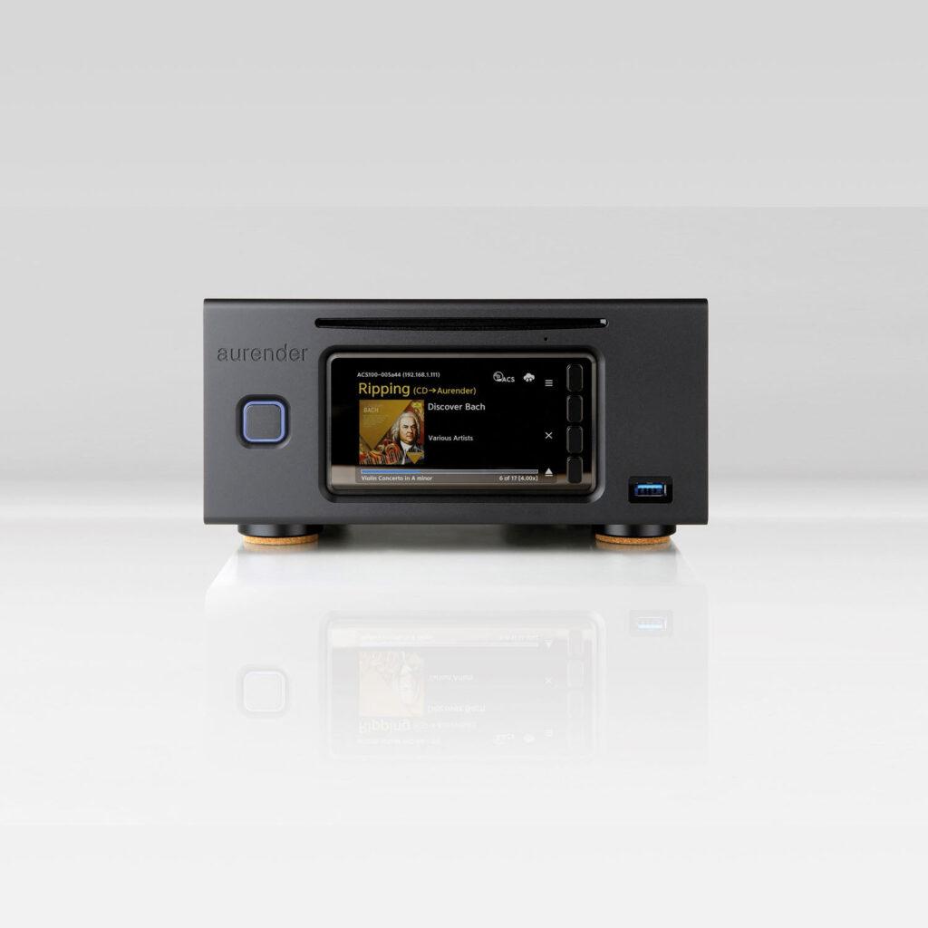 Aurender ACS100 zwart is netwerkspeler en muziekserver in één