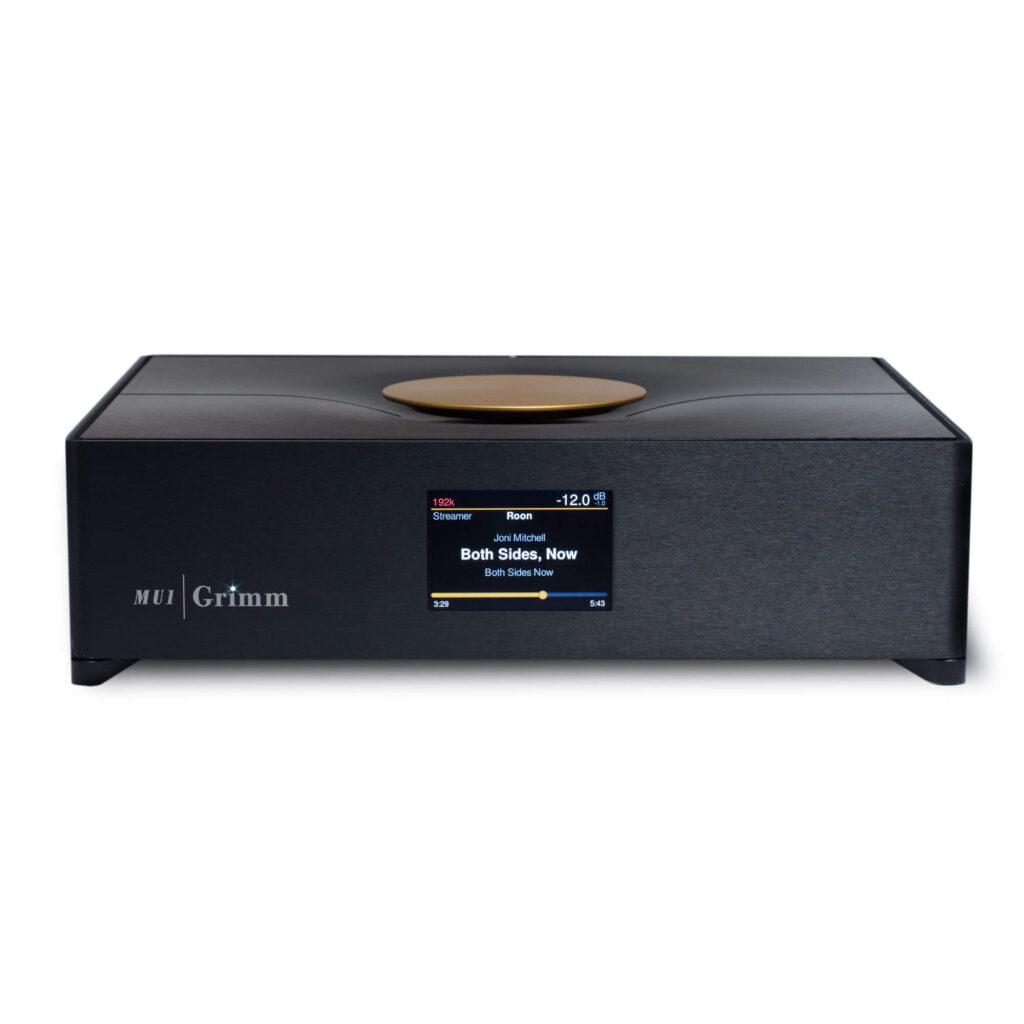 De Grimm Audio Mu1 netwerkspeler met Roon