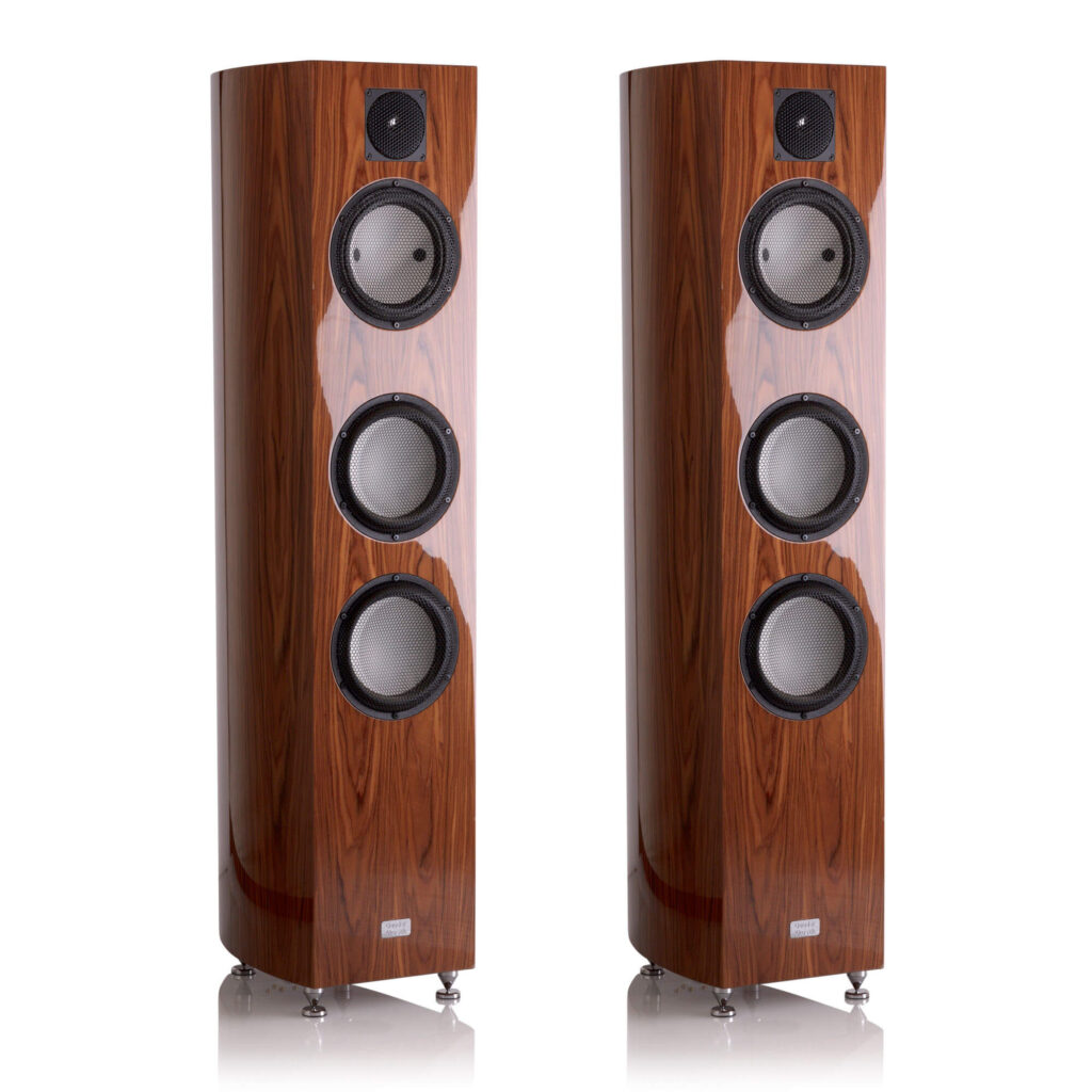 Gauder Akustik Cassian Black Walnoot