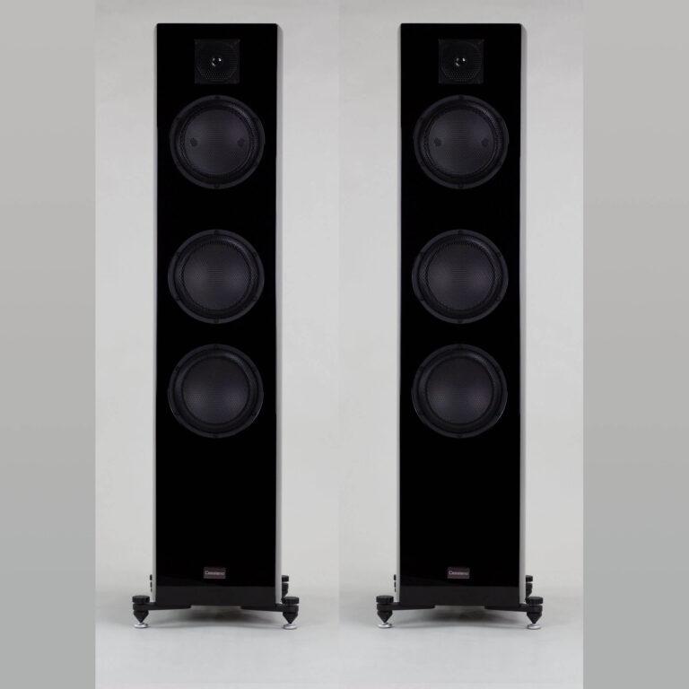 Gauder Akustik Cassian Black Hoogglans Zwart