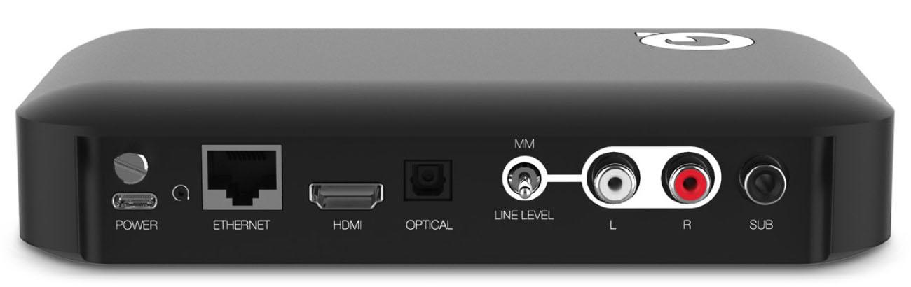 Q Acoustics Active Hub aansluitingen Hans Audio Q Acoustics Q Active 200