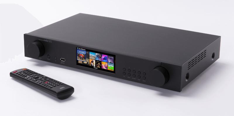 Cocktail Audio N25 netwerkspeler met display en afstandsbediening