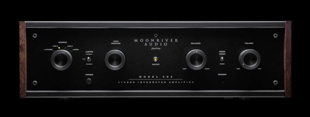 Moonriver Audio model 404 Front s Hans Audio Moonriver Audio: nieuwe klassieke versterkers uit Zweden